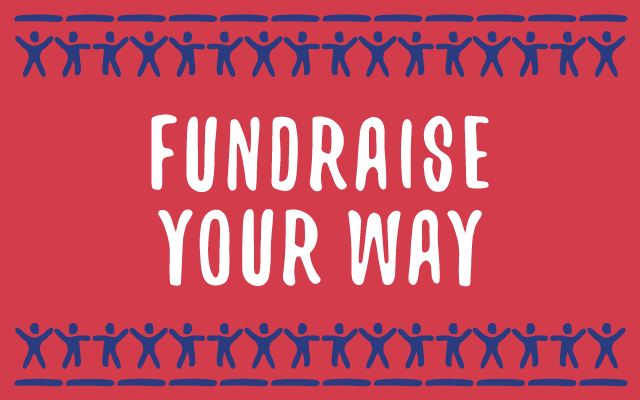Fundraise your way