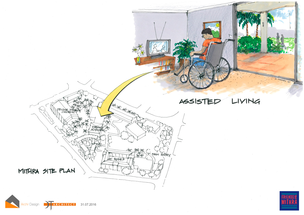 Proposed assisted living centre