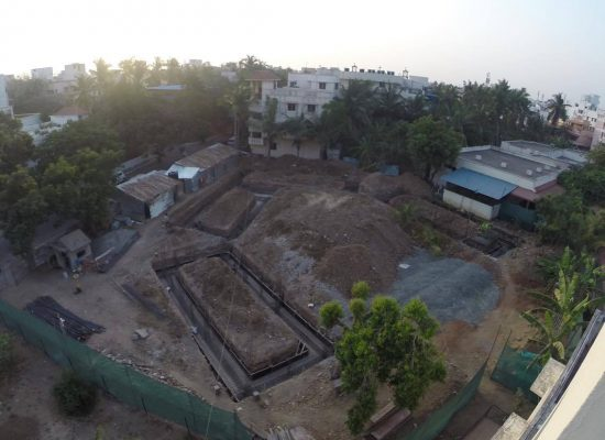 NEW BUILDING UNDERWAY