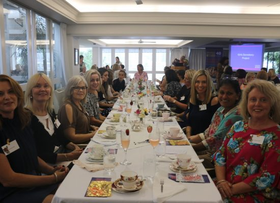 HIGH TEA AT THE MORETON CLUB