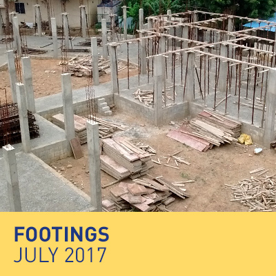 Footings - July 2017