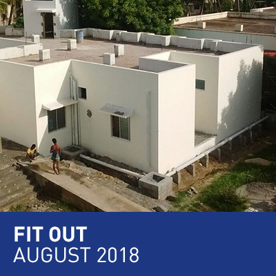 Fit out - August 2018
